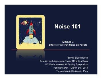 Noise 101, Module 3 - HMMH