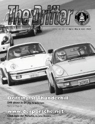 Derporsche - Sacramento Valley Region - Porsche Club of America