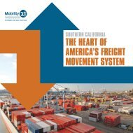 Southern California: The Heart of America's Freight Movement System