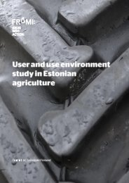 4. user and use environment in dairy cattle farms