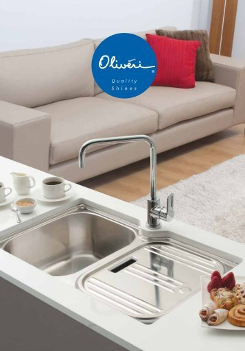 Reece Product Brochure | Oliveri | Palazzo | Sinks