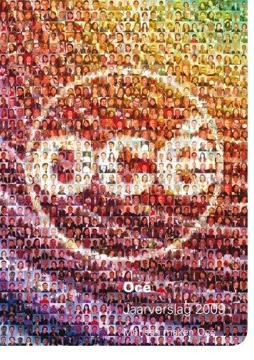 Océ Jaarverslag 2009 - Alle jaarverslagen