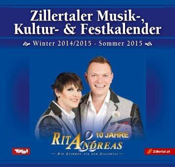 Zillertaler Musik-, Kultur- & Festkalender