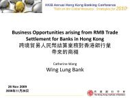 Business Opportunities arising from RMB Trade ... - Plus Concepts