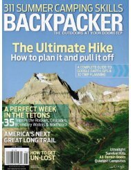 The Ultimate Hike Package