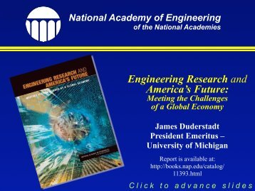 National Academies - University of Michigan