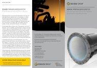 Isolierstück SHD Wasser | Flyer | DE | PDF - Franz Schuck GmbH