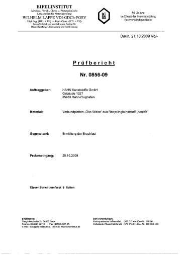 Verlegehinweise für Öko-Wabe  - Hahn Kunststoffe GmbH