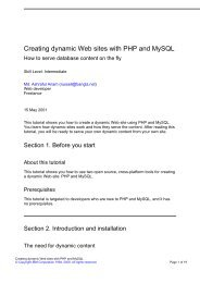 Creating dynamic Web sites with PHP and MySQL - FTP Directory ...