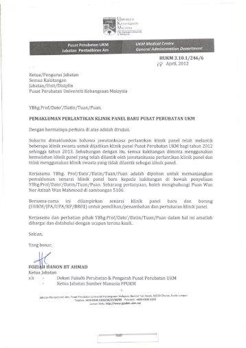 ` UNIVERSITl - Sistem e-Warga - Universiti Kebangsaan Malaysia