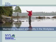 Maintaining Respect and Civility in the Workplace