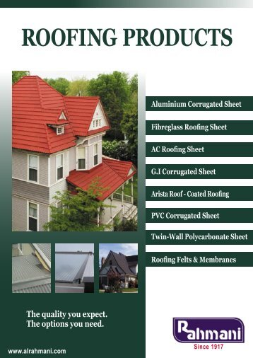 ROOFING PRODUCTS - AEC Online