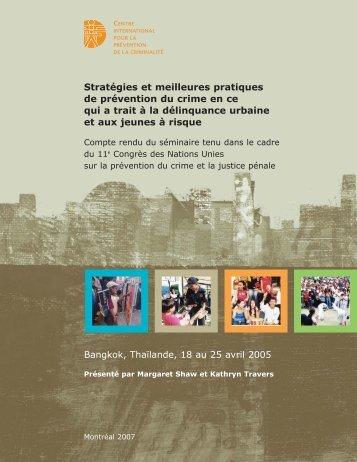 Consulter les actes du séminaire (PDF) - International Centre for the ...