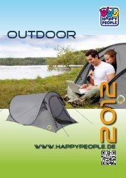Happy People Outdoor 2012 - Happy People GmbH & Co. KG