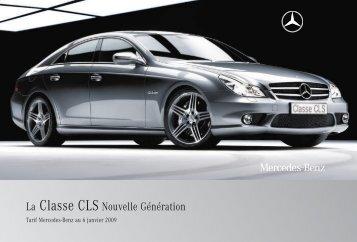 08 - CLS:Tarifs - Mercedes-Benz France
