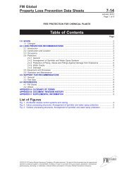DS 7-14 Fire Protection in Chemical Plants (Data Sheet) - FM Global