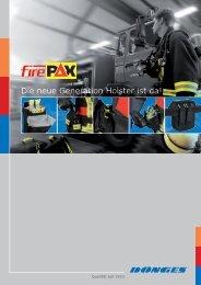 Flyer firePAX - Feuerwehrfanshop.de