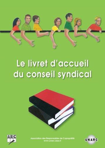 Livret d'accueil du conseil syndical - Unarc
