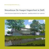Nieuwbouw De Haagse Hogeschool te Delft - Royal Haskoning