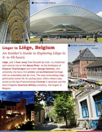 Linger in Liège, Belgium