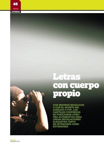 Insumos para la comunicación visual, y ahora ... - Revista Letreros