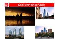 BAKU FLAME TOWERS PROJECT