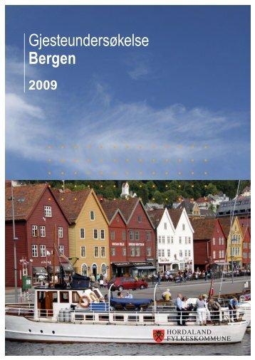 Gjesteundersøkelse Bergen - Hordaland fylkeskommune