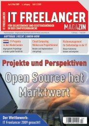 Der Wettbewerb: - IT Freelancer Magazin