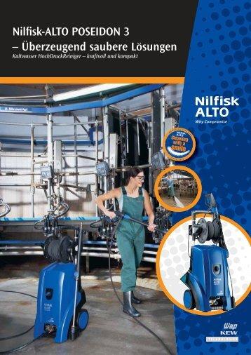 Nilfisk-ALTO POSEIDON 3 – Überzeugend saubere Lösungen