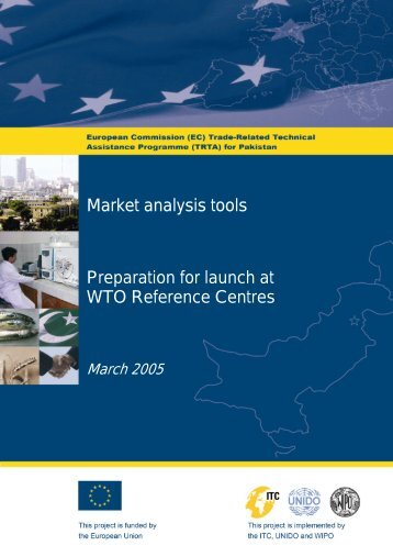 Market analysis tools Preparation for launch at WTO ... - TRTA i