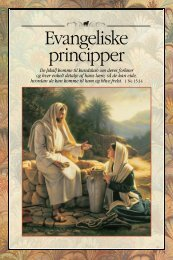 Evangeliske principper