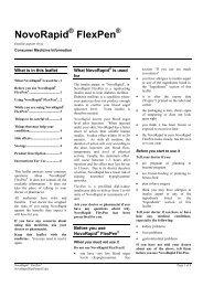 NovoRapid FlexPen - Novo Nordisk Australasia