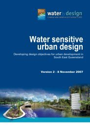 Developing design objectives for urban ... - Water by Design