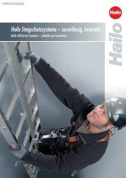 Hailo PARTNER – Steigschutzläufer neu definiert - Hailo Professional