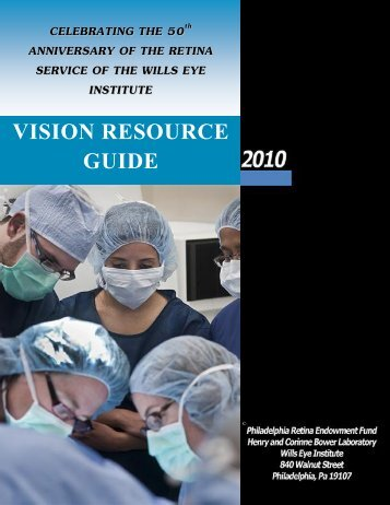 Wills Eye Institute Resource Manual - North Central Sight Services ...