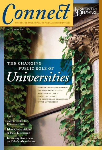 Spring 2011 Issue - School of Public Policy & Administration ...