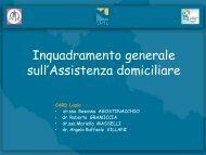Assistenza Domiciliare - Agenzia di Sanità Pubblica della Regione ...
