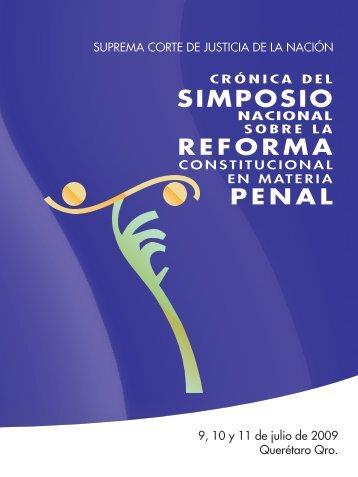 CronicaSimposioPenal - Suprema Corte de Justicia de la Nación