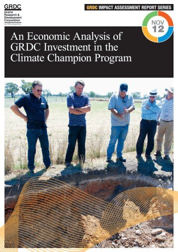 An Economic Analysis of GRDC Investment in the Climate ...