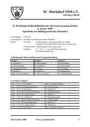 Spielplan zum Ausdrucken im PDF-Format - SC Markdorf 1910 eV