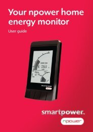 Your npower home energy monitor