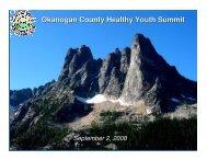 Okanogan County Healthy Youth Summit