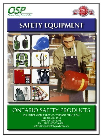 download entire catalogue - ontario safety products