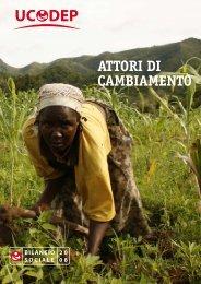 Bilancio Sociale 2008 - Oxfam Italia