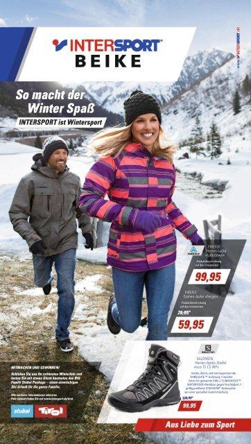 Intersport Beike: So macht der Winter Spaß - Sportartikel