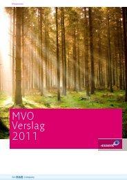 MVO Verslag 2011 - Essent