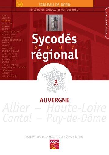 Auvergne - Agence Qualité Construction
