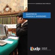 Descargar Folleto PDF - Postgrados • Facultad de Economía y ...