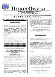 Diário Oficial nº 2.798 - 27 de novembro (Segunda-feira) - 217Kb