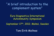 A brief introduction to the complement system - Euro Diagnostica
